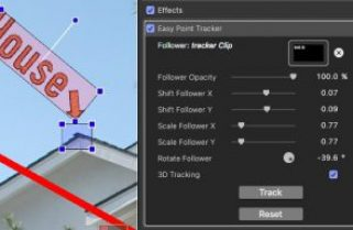 Quick Look: EasyTracker for FCPX