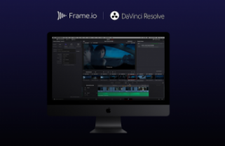 Frame.io adds DaVinci Resolve integration