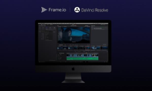 Frame.io adds DaVinci Resolve integration