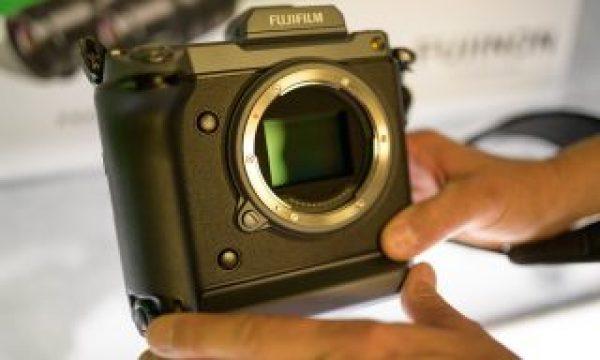 Cine Gear: Fujifilm GFX100 Medium Format Camera with a 100MP Sensor
