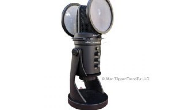 Review: Samson G-Track Pro multi-pattern microphone with pop filters