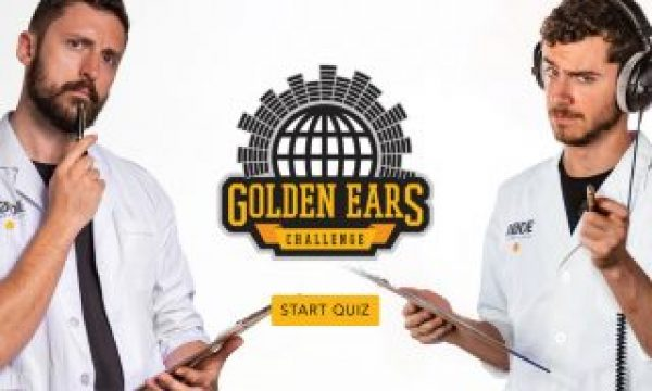 RØDE's 'Golden Ears' Challenge': Take the quiz and perhaps win