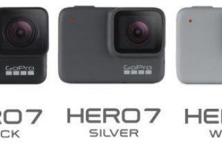 GoPro HERO7 Black, Silver and White Comparisons