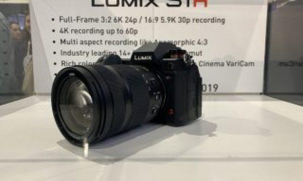 Cine Gear: The Panasonic 6K Full-Frame Lumix S1H