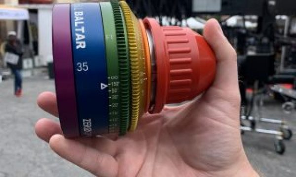 Cine Gear: Zero Optik's Rainbow Super Baltar Lens