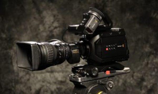 Blackmagic Designs Ursa Mini 4.6k with the B4 Lens Adapter