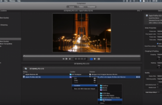 4K Timelapse workflow in Compressor
