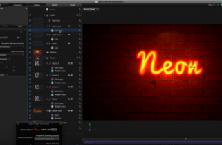 Creating Neon Lights in Motion
