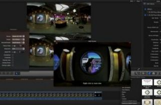 360VR compositing in Final Cut Pro X