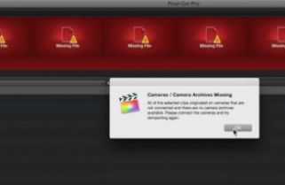 Reimporting from Camera Archives in Final Cut Pro X