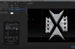 Creating and animating 3D logos in Motion