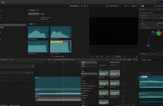 The audio signal path in Final Cut Pro 10.3