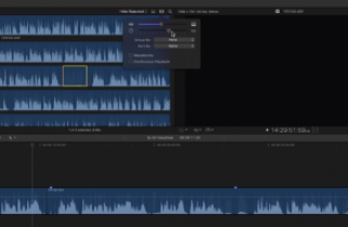Replace with ambience in Final Cut Pro X