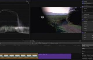 Using Graduated Masks in Final Cut Pro X