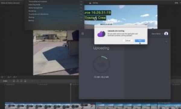 Exporting Clips Using Frame.io