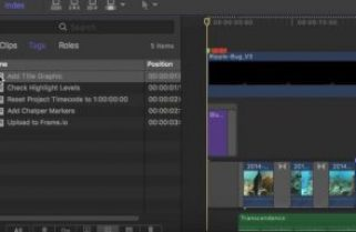 Making To-Do Lists in Final Cut Pro X