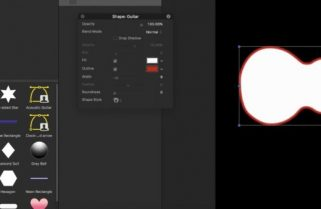Creating Custom Shape Icons in Motion