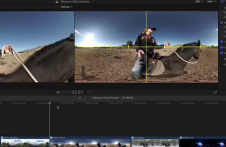 Editor as Director in 360 Video with Final Cut Pro X