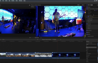 Working with 360 Effects in Final Cut Pro X