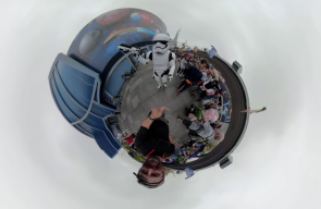 Creating Tiny Planet FX in Final Cut Pro X