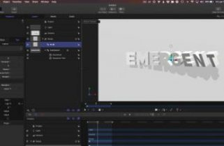 Creating a Netflix-Inspired 3D Title Animation with Motion