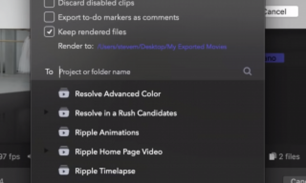 Batch Export Clips from Final Cut Pro X Timelines