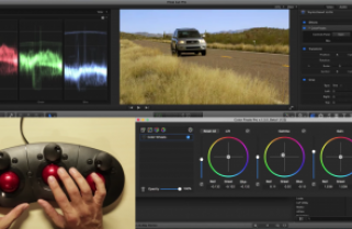 Grading with the Tangent Ripple in Final Cut Pro X