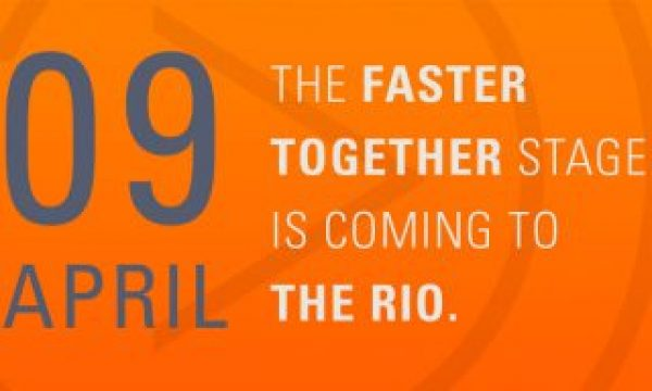 The Faster Together Stage Comes to the Rio
