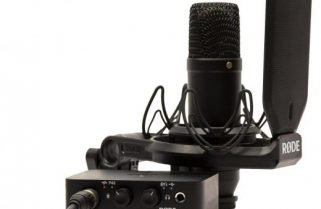 Review: RØDE NT1 studio microphone, shockmount and pop filter