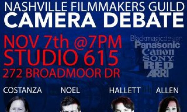 Nashville Filmmakers Guild's Camera Debate