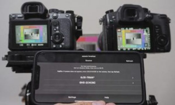 PSA: Sony A7Riv can be remote controlled over a long distance