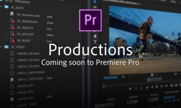 Adobe announces Productions: Premiere team projects for all