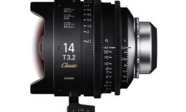 Pricing and Availability for Sigma's FF Classic Art Prime Cine Lenses