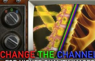 Improving image quality by changing channels