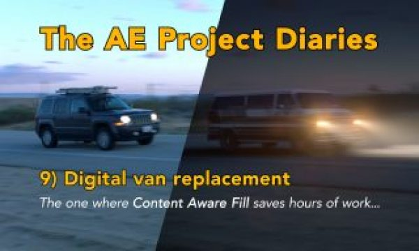 AE Project Diary: 9) Digital van replacement