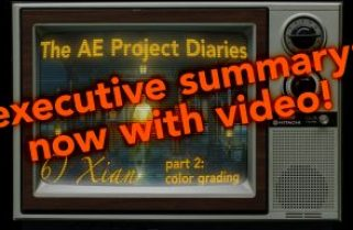 AE Project Diary: 6) Xian part 2: With Video!