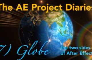 AE Project Diary: 7) Globe animation