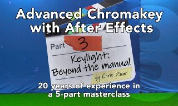 Advanced keying with After Effects: Part 3
