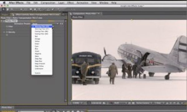 After Effects Classic Course: Photo Filter
