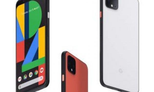 Google Pixel 4 phone with multi-cameras, 3 mics & radar!