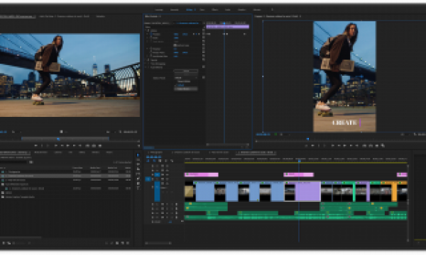 The November 2019 release of Adobe Premiere Pro and the other Adobe Video Apps is here