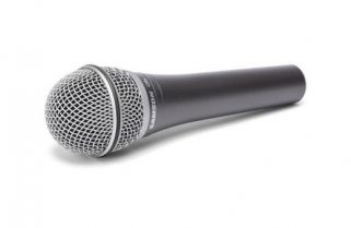 Review: Samson Q8X supercardioid dynamic handheld microphone, headless with A81WS