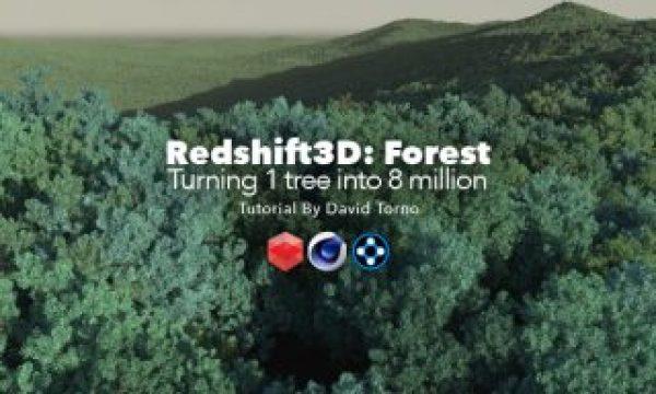Redshift3D Forest