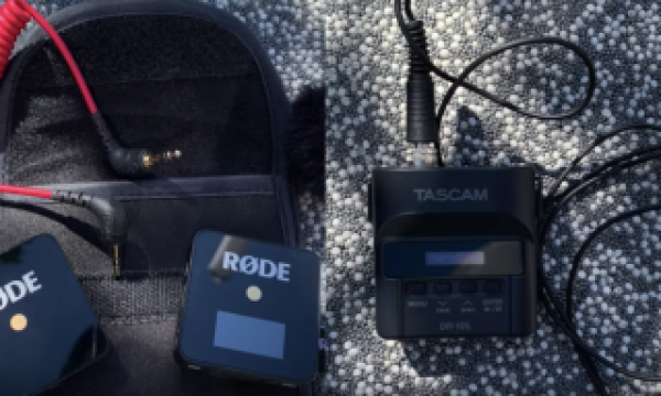 Rode Wireless Go vs.Tascam DR-10L