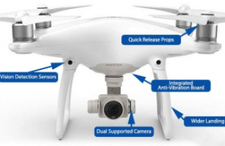 DJI Phantom 4 quadcopter for Indie Filmmakers