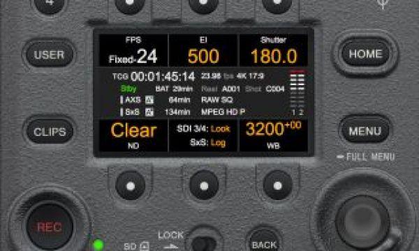 The Sony 6K VENICE Menu Simulator Online Now