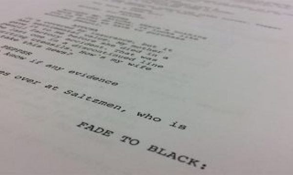 Basic Structure of a Screenplay – free course