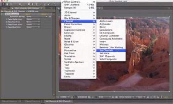 After Effects Classic Course: Set Channels & Shift Channels