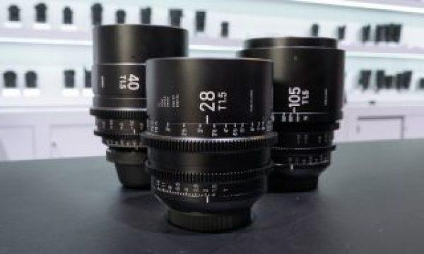 NAB 2019: 28, 40 and 105mm Make 10 Sigma Cine Prime lenses