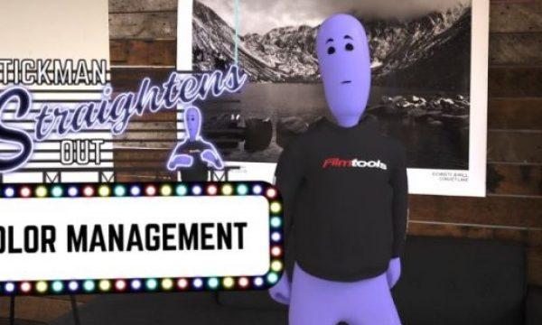Stickman Straightens Out…Color Management